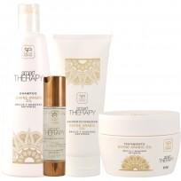 Pack Divine Arabic Oil Smart Therapy: Shampoo + Acondicionador + Tratamiento + Reparador de puntas