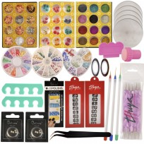 Kit Completo y Exclusivo para decoración de Uñas - Nail Art