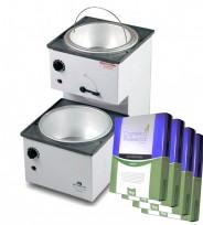 Calentador de Cera Para Depilación Ceratermic Europa 4.5K Arcametal + 4  Ceras Depilatoria x 1kg