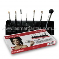 Kit Pinceles para Maquillaje Lujo Marta Heburn