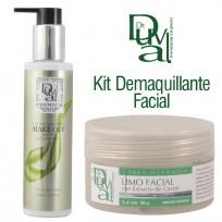 Kit para limpieza y demaquillante de la piel: Make Off Premium + Limo Facial Dr. Duval