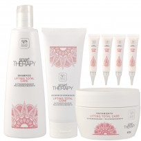 Pack Lifting Total Care Smart Therapy: Shampoo + Acondicionador + Tratamiento + Ampollas + REGALO!!