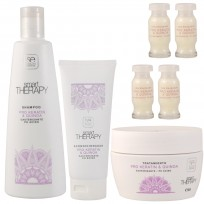 Pack Keratin & Quinoa Smart Therapy: Shampoo + Acondicionador + Tratamiento + Ampollas