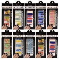 10 Planchas de Stickers Premium Diversos Modelos Nailway