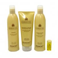 Pack Maroc-Oil: Shampoo x330ml + Acondicionador x330ml + Tratamiento x220ml + Ampolla x10ml