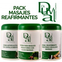 Pack Profesional para Masajes Reafirmantes Dr Duval